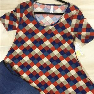 LuLaRoe XXS Perfect T and amazing for Fall